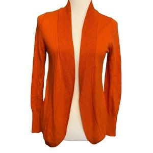 Mossimo Supply Co. Orange Cardigan Size Medium